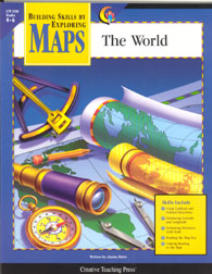 Building Skills by Exploring Maps: The World