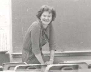 My Mother, an Excellent Teacher, in her English Classroom