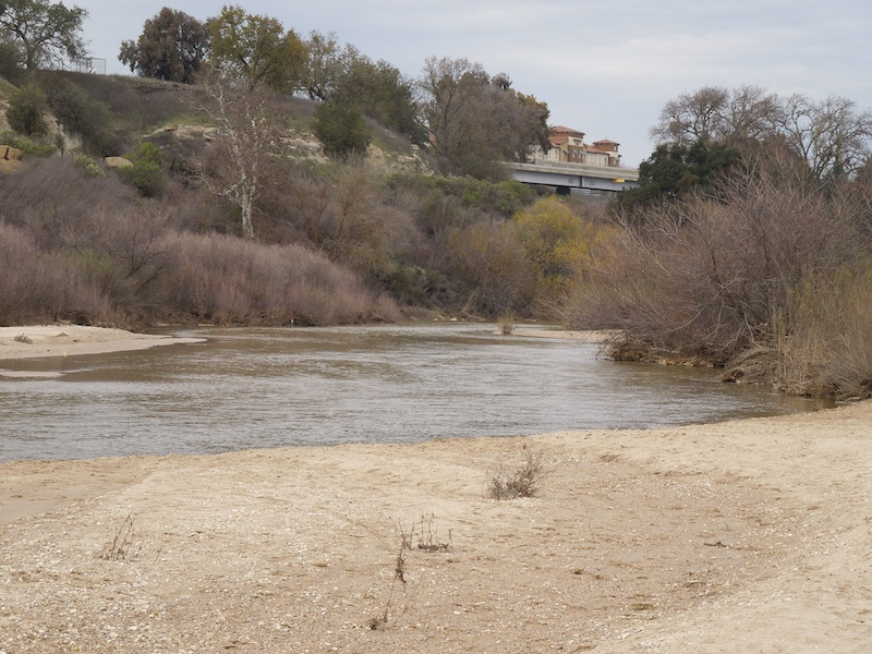 Water in Salinas River
