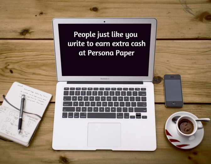 If You'd Like to Write for a Bit of Extra Cash, You Might Like Persona Paper
